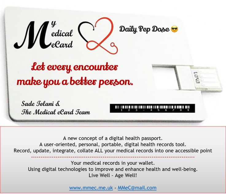 Daily Pep Dose from  My Medical eCard.   Follow us and share our Pep Doses.  www.mmec.me.uk    Sadé Tolani