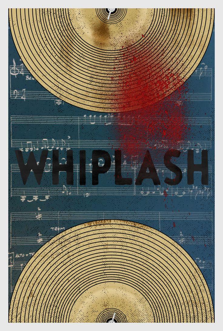 Whiplash Minimalist Poster -Matt Herman