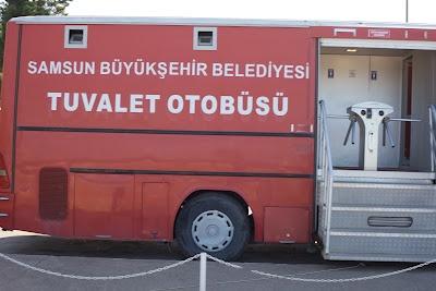 Toilet bus, Samsun, Turkey. polskaturka.com