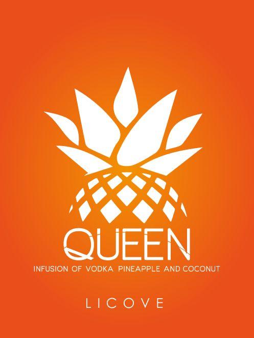 #vodka #infusion #piña #pineapple #cpco #coconut #licoven #desing #logo #disvictormontoya #proyecto #g8diseña