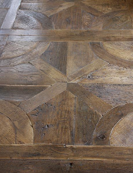 pattern and patina wood floor. #cultivateit