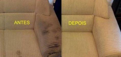 Remova o encardido do sofá com uma receita caseira