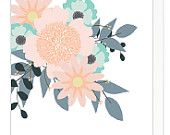 Multi purpose flower greeting card   sarahsuttle.com