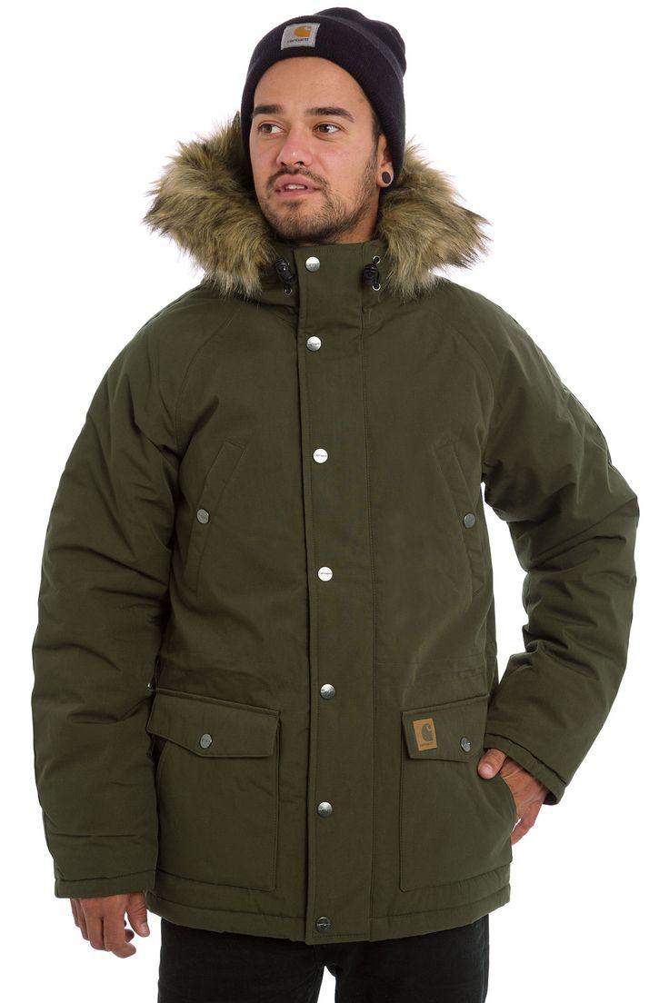 Carhartt WIP Trapper Parka Jacket (cypress black)