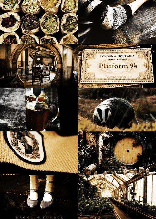 houses of hogwarts → hufflepuff