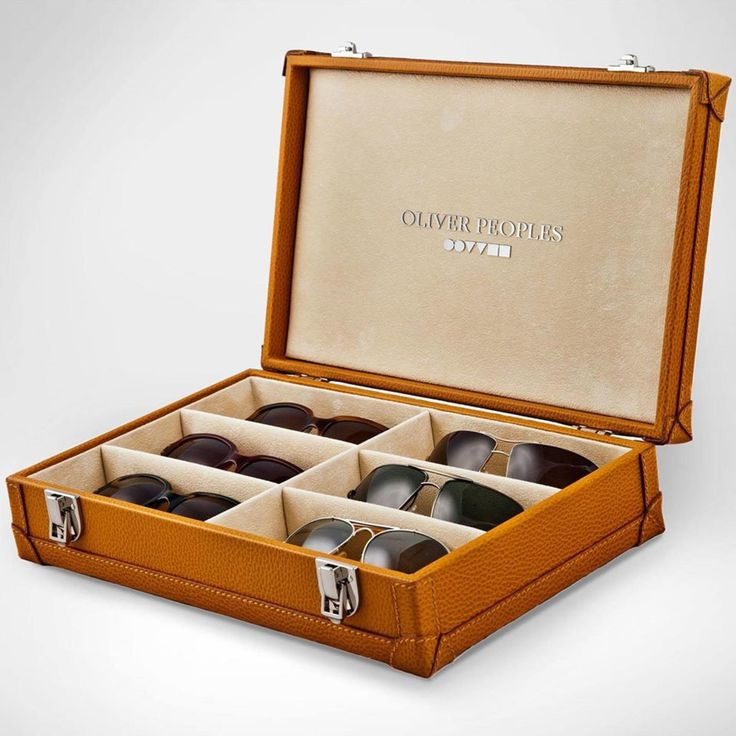 Oliver Peoples releases the perfect accessory for the eyewear aficionado. When one pair isn't enough.