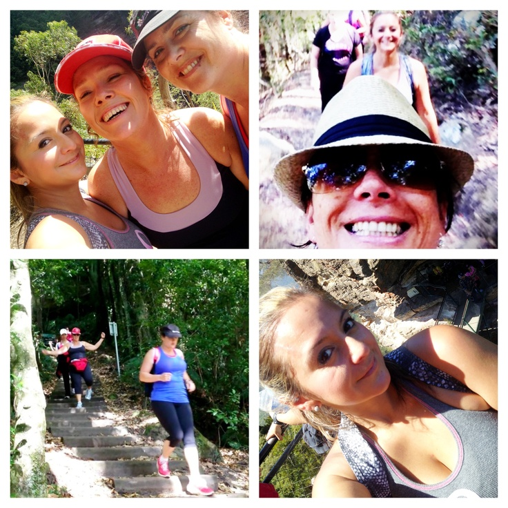 At the blue mountains with my South West Sydney 12WBT friends
