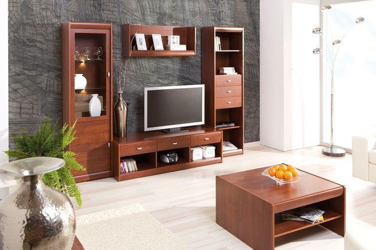 W takim salonie aż chce się przebywać :) Poznaj naszą kolekcję Dover #meble #salon #zainspirujsie #inspiracja #szynaka #inspiration #livingroom
