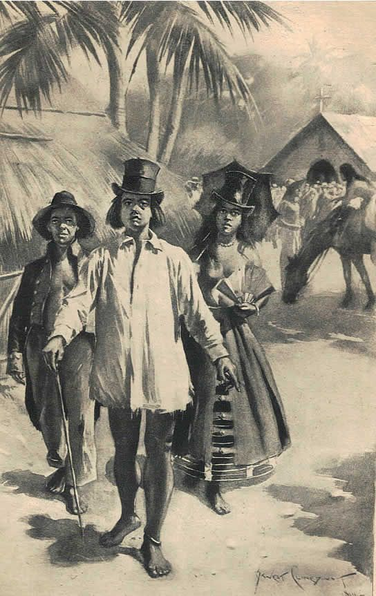 from Mark Twain s Travel diaries - a description of Hawaiian indentured labourers
