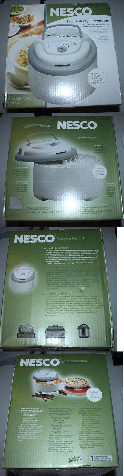 Food Dehydrators 32883: Nesco Fd-75A Snackmaster Pro Food Jerky Dehydrator 700 Watt, White -> BUY IT NOW ONLY: $65 on eBay!