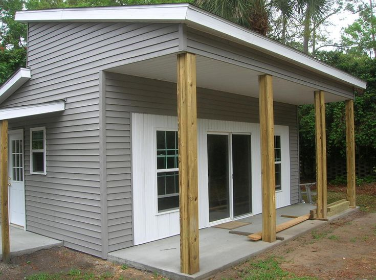 how to build your own tiny house an attractive design with wooden terrace, perfect for people who love to live in a comfortable and quiet, minimal cost in manufacturing
