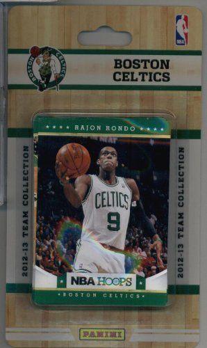 2012-13 Panini NBA Hoops Boston Celtics Team Set (10 Cards)- Kevin Garnett, 2 Rajon Rondo, Ray Allen, Paul Pierce, Bass Bradley, Rivers, JaJuan Johnson RC & Stiemsa RC ! by 2012/13 Panini NBA Hoops. $8.49