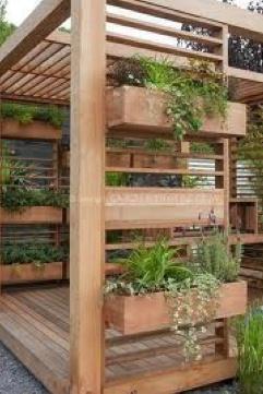 Add clean line, planter boxes
