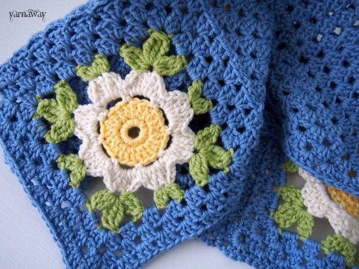 wip: daisy chain   yarnaway: a crochet scrapbook