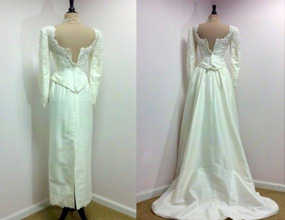1000+ Images About 1980s Vintage Bridal On Pinterest