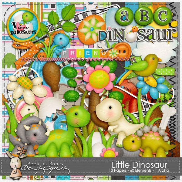 little dinosaur (by peek a boo designs)