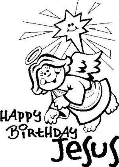 17 best images about happy birthday jesus on pinterest for Happy birthday jesus coloring pages
