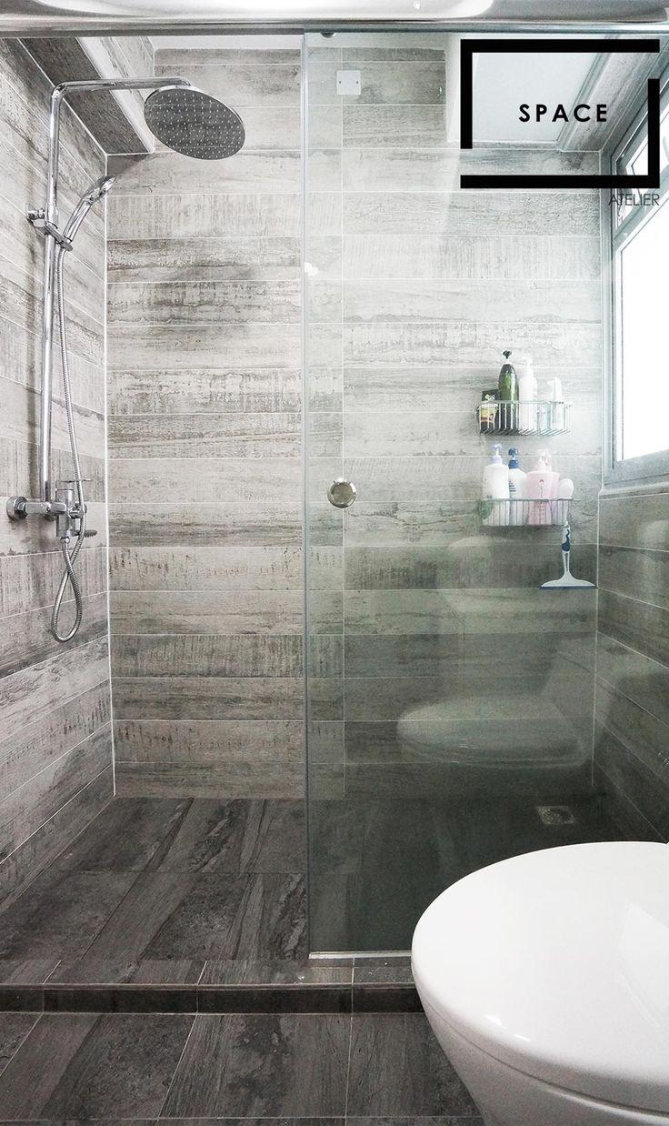 Senja Parc View, Minimalism HDB Interior Design, Bathroom