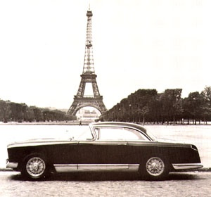 Facel Vega HK500. Albert Camus died in a crash as a passenger in one of these.