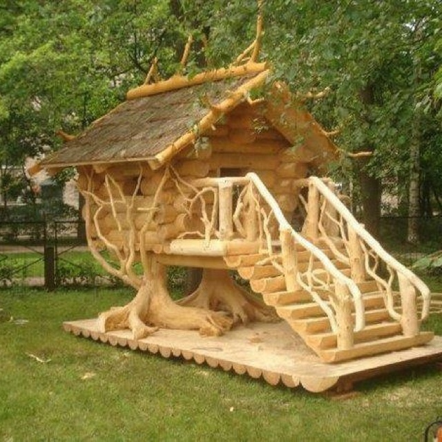 Cool Tree House Things My Hubby Needs To Build For Me