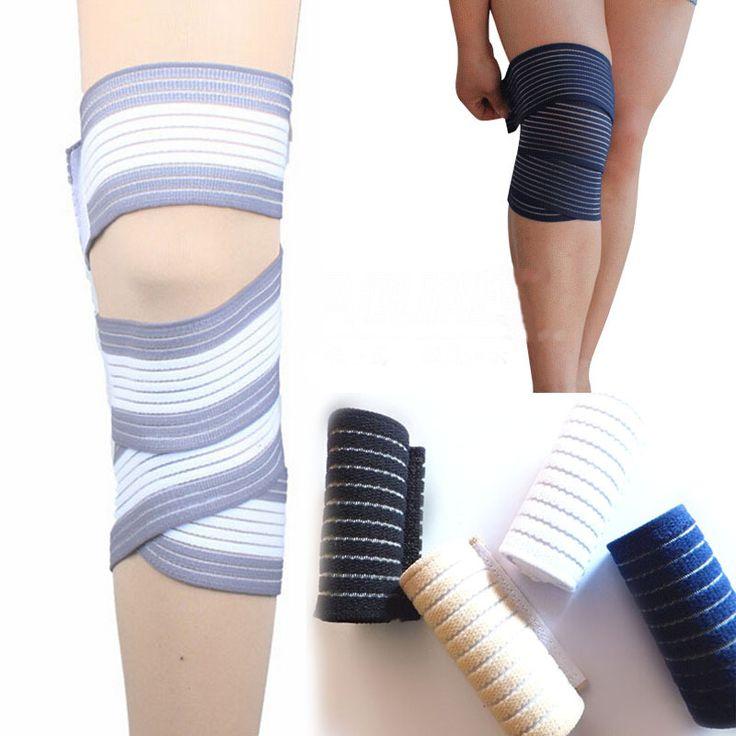 1pc bandage wrap ankle knee elbow stretch thigh shank leg