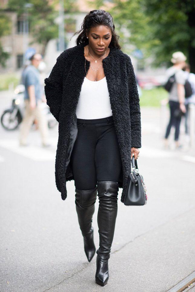 Серена Уильямс стремительно покоряет мир моды | Мода | Новости | VOGUE