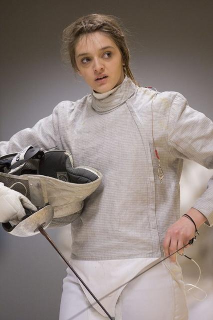 Ladies' Fencing (Varsity 2013)