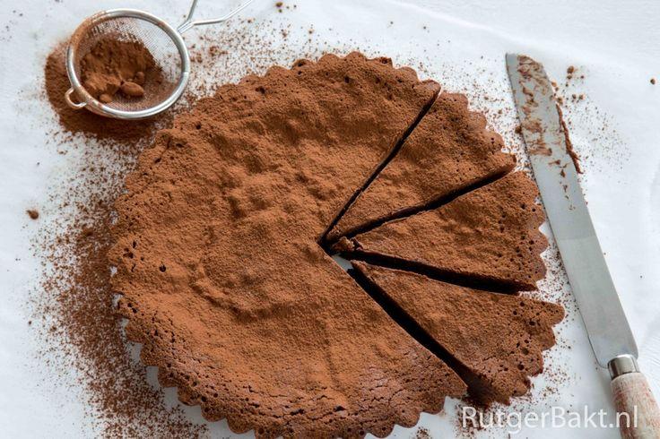 Smeuiige chocoladetaar - done!