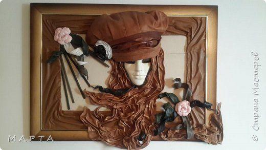 Картина панно рисунок Моделирование конструирование картины из кожи Кожа