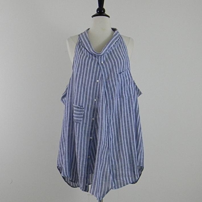 old bf shirt made tunic/dress