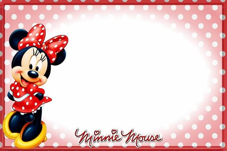 Minnie Mouse | бланки, грамоты | Pinterest | Minnie mouse ...
