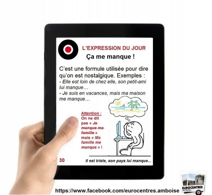 """La série """"Les expressions du jour"""" (1 à 100) : - Eurocentres Amboise"""