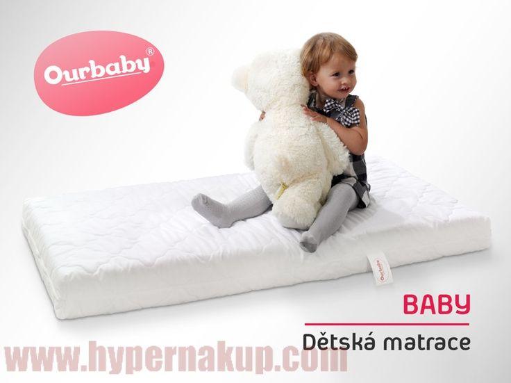 Detský obojstranný matrac BABY 70x130 cm