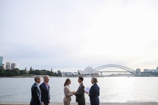 Wedding at Mrs Macquarie's Point - Wedding Photographer Sydney - Vincent Lai
