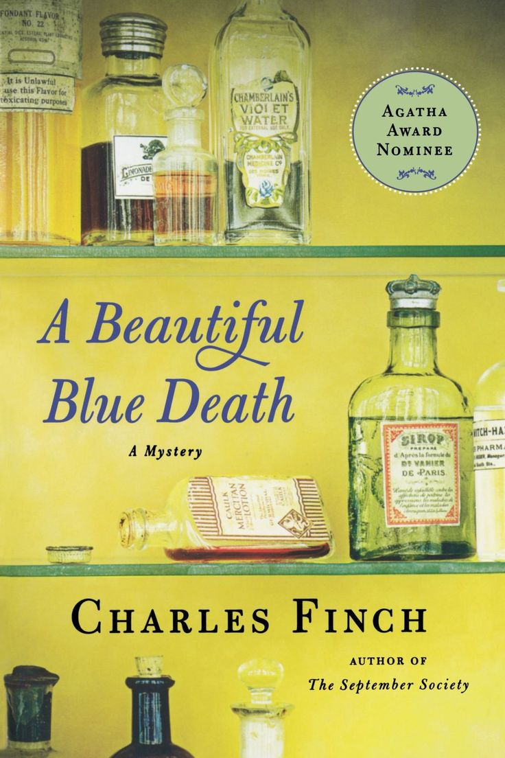 A Beautiful Blue Death by Charles Finch « So Your Friend Likes To Read