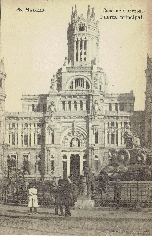PS5594 MADRID 'CASA DE CORREOS. PUERTA PRINCIPAL'. J. ROIG. SIN CIRCULAR - Foto…
