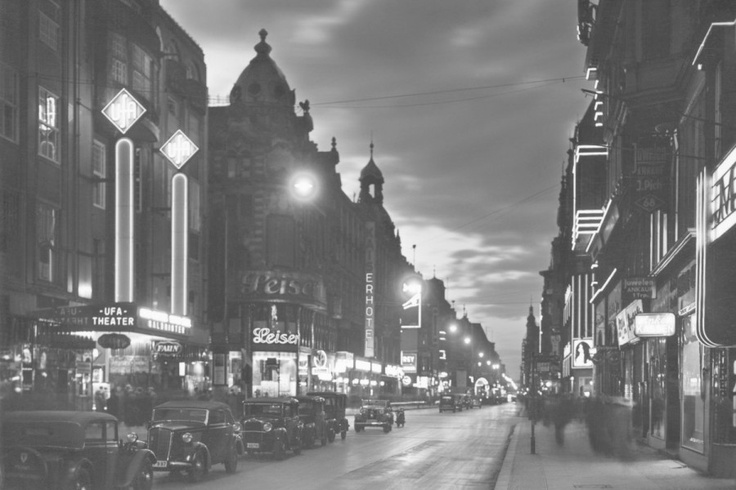Berlin Friedrichstrasse 1933