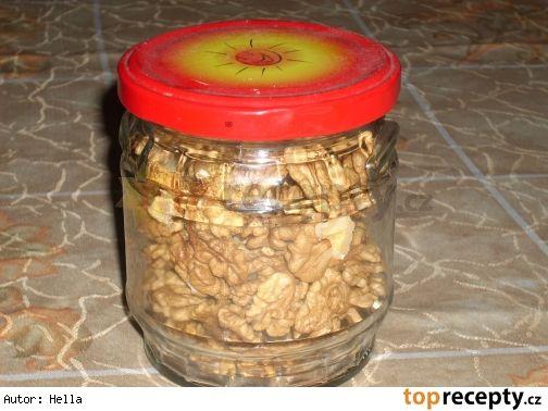 Zavařování ořechů v mikrovnce