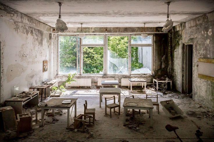 Salle de classe : Tchernobyl: date, conséquences de l'explosion et photos de la zone aujourd'hui - Linternaute