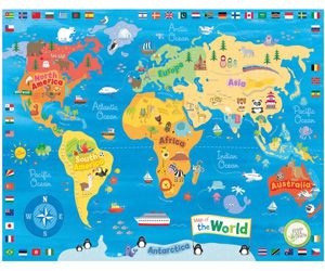 6 Books for Teaching Map Skills: Add some fun to your homeschool geography lesson with this map-themed unit study.