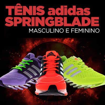 Se você está interessado em comprar um tênis Adidas Springblade, vale a pena conferir os descontos que a Centauto está oferecendo. São até 42% de desconto!