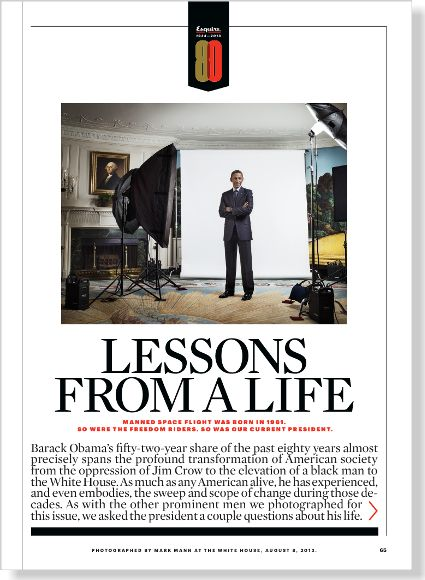Lessons from a Life. Clipped from Esquire using Netpage.
