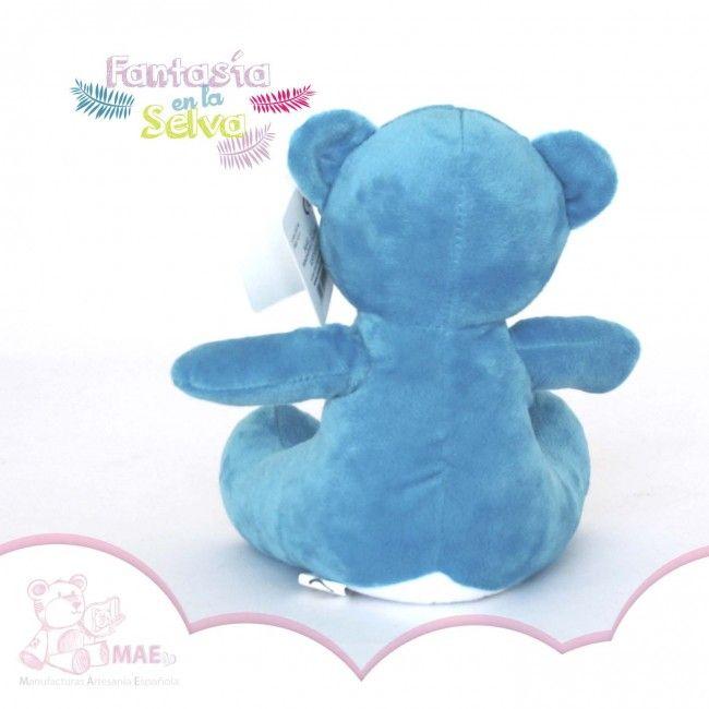 Oso de peluche azul - 17cm - Osos de peluche