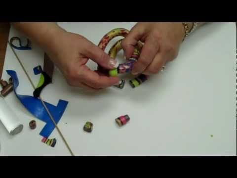 Armband aus mehreren Teilen zusammengesetzt