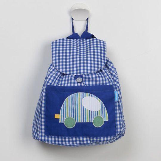 tutorial mochila infantil - Pesquisa Google                                                                                                                                                     Más