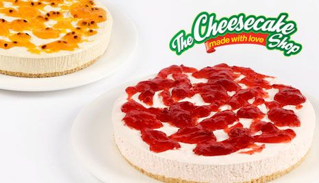 Our Deal - $12 for a Famous Continental Cheesecake. Your Choice of 6 Mouth-Watering Flavours at The Cheesecake Shop, Multiple Locations in Perth
