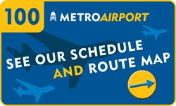 $1.50 Premium fare takes you between the Austin airport and downtown every 30 minutes on the hour and half hour!