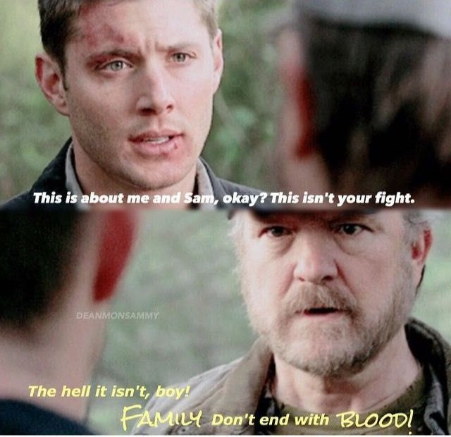 Supernatural Quotes Family Don T End With Blood: 17 Best Images About Supernatural, Hunters, Angels, Demons