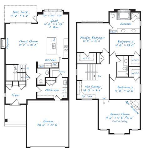 37 best floor plans images on pinterest calgary floor for Large home plans for entertaining