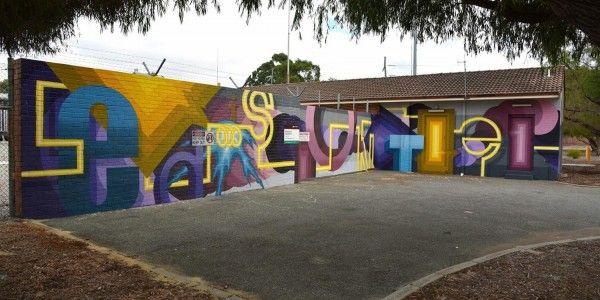 @sherriewilsonprojects  #fudgeworks #perth #mural #streetart  http://www.sherriewilsonprojects.com/